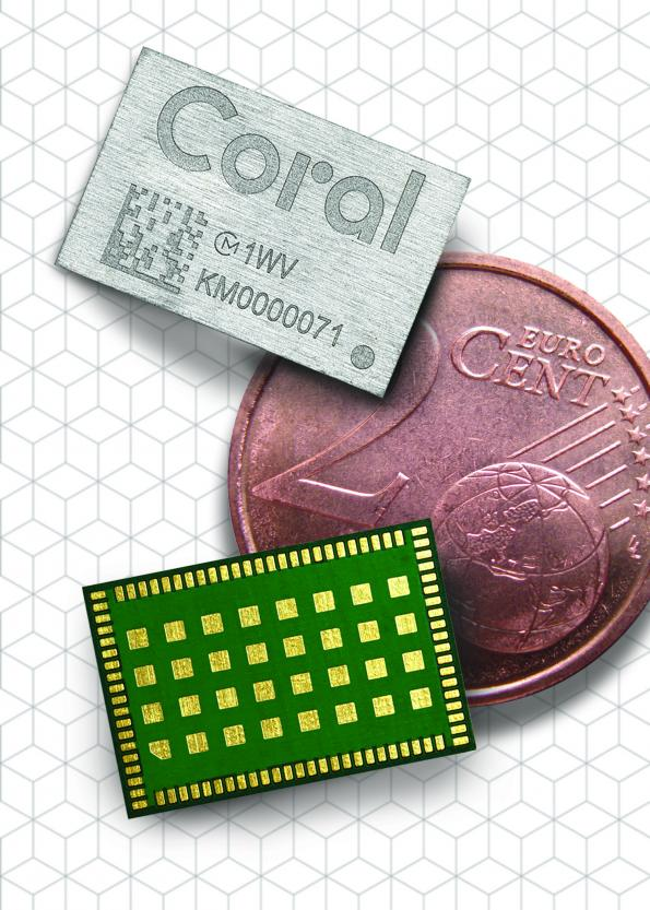Murata and Google have partnered to create an AI module that packages Google's Edge TPU ASIC in a tiny footprint.