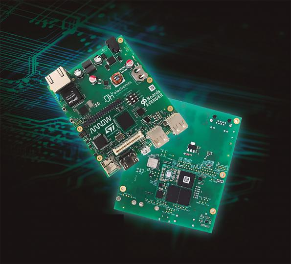 STM32MP1 MPU development platform adds flexibility and jump-starts development