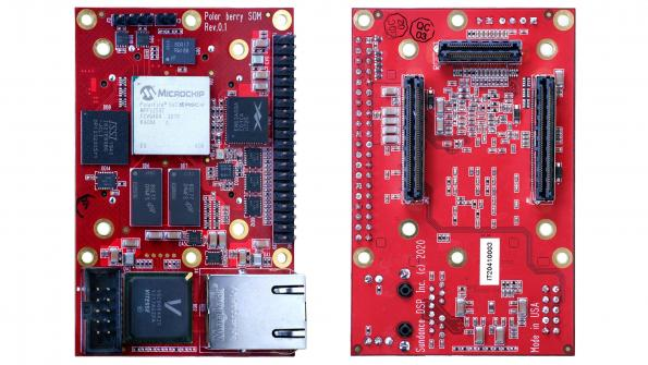Sundance has launched PolarBerry, a production and deployment-ready SoM that features a hardened 64 bit, multicore real-time, Linux-capable RISC-V MPU subsystem.