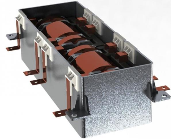 Maximizing power handling in HEVs and EVs with power magnetics