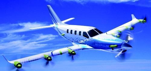 L'avion à propulsion hybride prend sa source au Bourget
