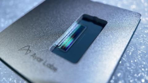 First Terabit optical link for chip-to-chip connections