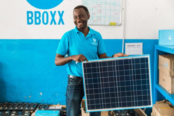 Mitsubishi backs investment in London-based Bboxx for solar roll out in Africa.