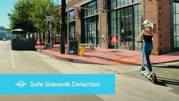 Swiss GPS stops e-scooters on sidewalks