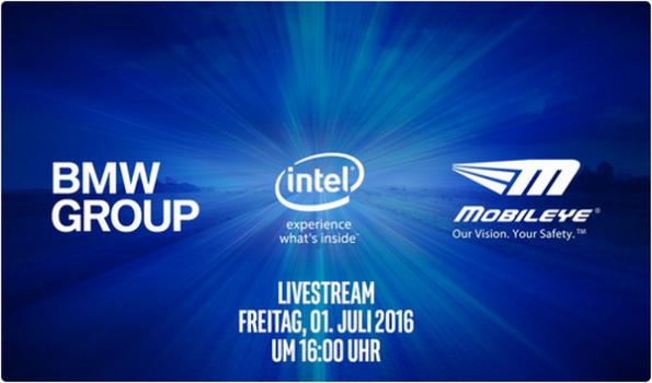 "BMW, Intel, Mobileye to announce ""future of driving"""