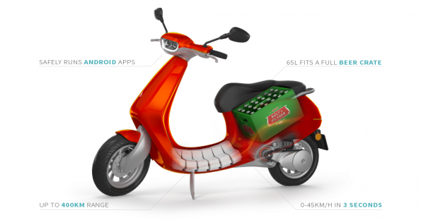 Dutch electric smart scooter startup raises €3m