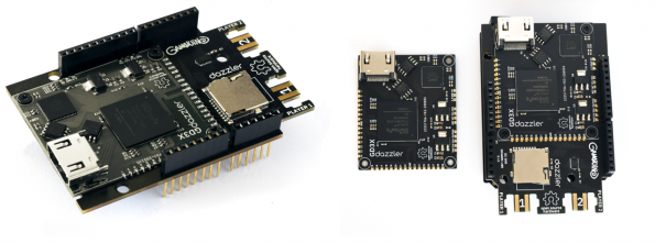 Excamera Labs' successor to the original Gameduino, the Gameduino 3X Dazzler, will use the Bridgetek BT815 embedded video engine (EVE) graphics controller.