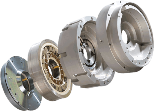 Calnetix shows magnetic drive with power module