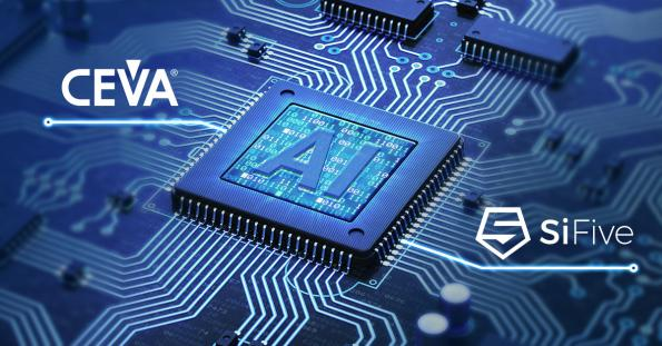 SiFive and CEVA will partner to design ultra-low-power domain-specific Edge AI processors for a variety of high-volume use cases.
