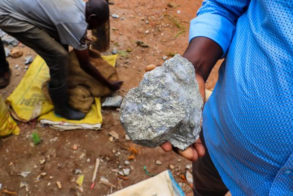 Small mines in the Democratic Republic of Congo account fro 11 percent of cobalt from the country
