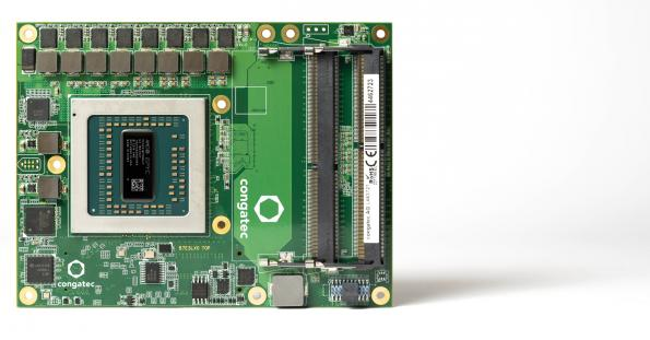 congatec Server-on-Module features AMD embedded processors