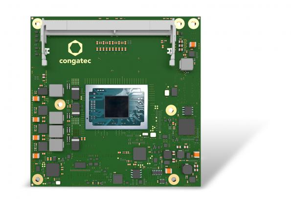 congatec has launched a COM Express Compact board that features AMD's new Ryzen Embedded V2000 processor range.
