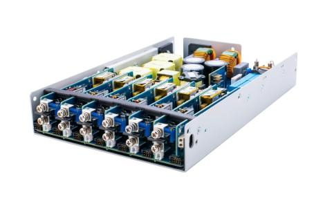 Fanless 1000W modular supply for sensitive scientific, test and medical systems
