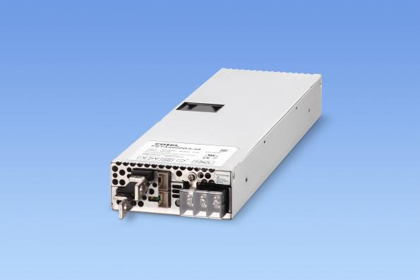 Cosel's FETA3000BA 3kW AC-DC power supply includes active current sharing to allow up to 10 units to be used in parallel for industrial or semiconductor equipment