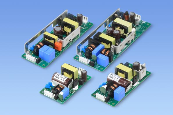 Cosel's LHA30F, LHA50F, LHA75F and LHA100F AC-DC converter series extend the existing LHA150F and LHA300F models downwards for industrial power designs from 100W down to 30W.