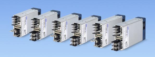 300W and 1000W AC-DC supplies target medical and industrial with extended communications bus