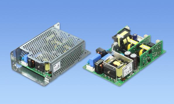 Triple output 200W AC-DC supply targets robotic controllers