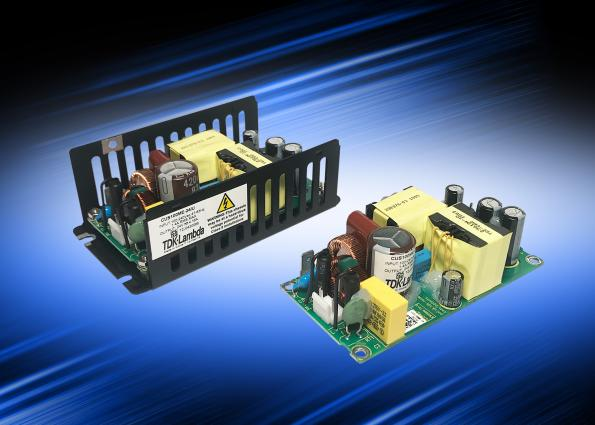 100W medical and industrial AC-DC power suppliesmeasure 2 x 4in