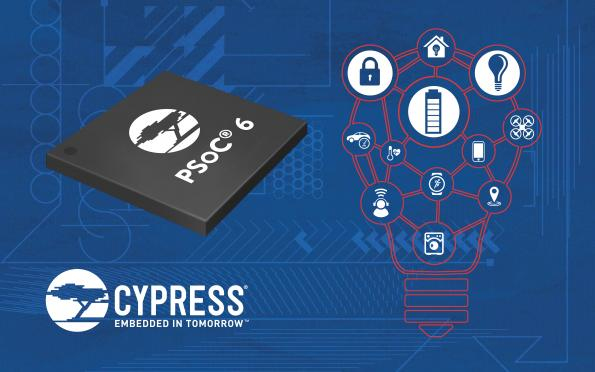 PSoC 6 MCU gains additional memory and longer battery life