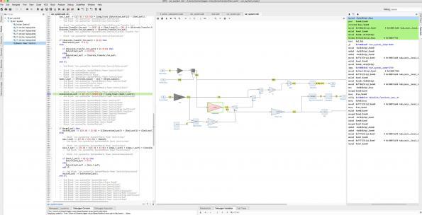 Model-level debugging: a bridge between control engineering and software engineering