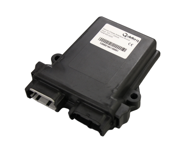 Delta-Q's Vehicle Charge Interface Module (VCIM) supports standards for electric vehicle AC charging stations or Electric Vehicle Supply Equipment (EVSEs).