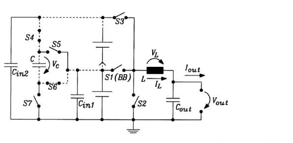 Dialog Semiconductor patents a multi-cell DC-DC converter design using a switched capacitor architecture