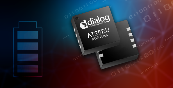Lowest energy flash memory chip for the IoT