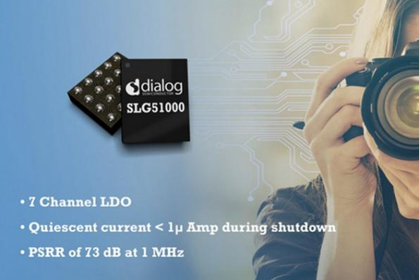 LDO voltage regulator has seven channels