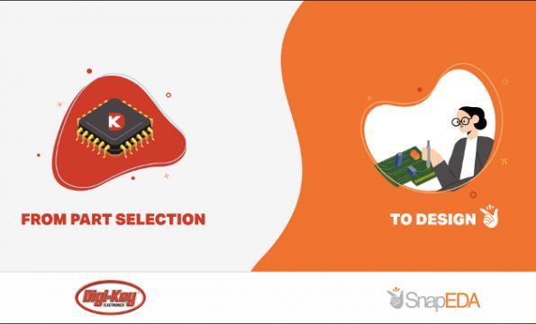 Digi-Key releases 1.5 million SnapEDA CAD models