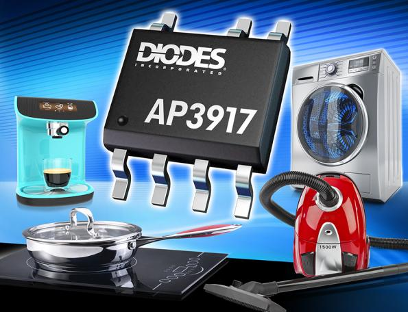 Diodes' AP3917 family of universal AC-DC converters with non-isolated buck (step-down) power switches is aimed at low-power always on applications such as small appliances and IoT endpoints