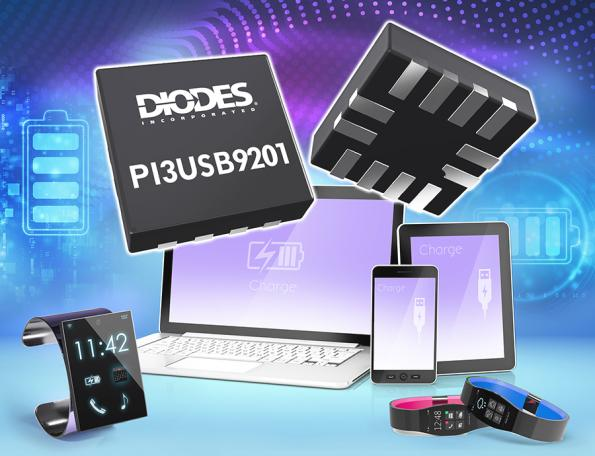The PI3USB9201from Diodes enablesdesigners to reduce the size and cost of adding a USB Type-Cinterface intolaptops, tablets, smartphones, drones, and small home appliances.