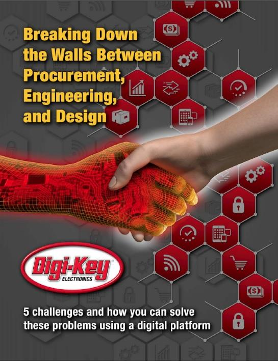 Digi-Key has launched a free eBook on the benefits of implementing the company's API solutions, and a new ROI calculator to calculate the benefits.