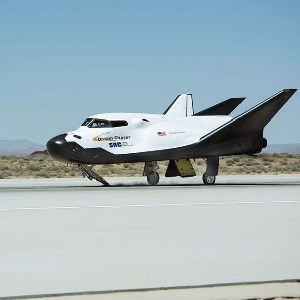Miniature space plane heads for Cornwall