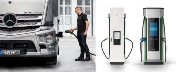 Four team for truck charging infrastructure