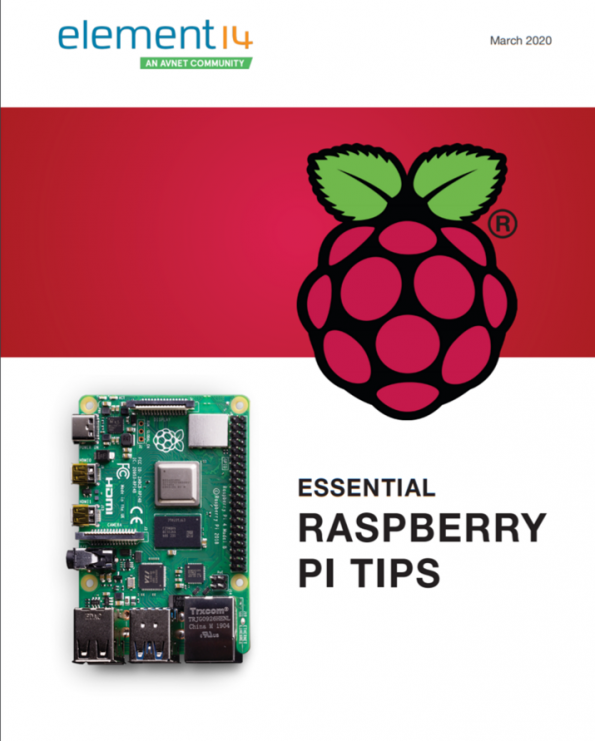 """In celebration of Pi Day, element14 has published a new eBook: """"Essential Raspberry Pi Tips""""."""