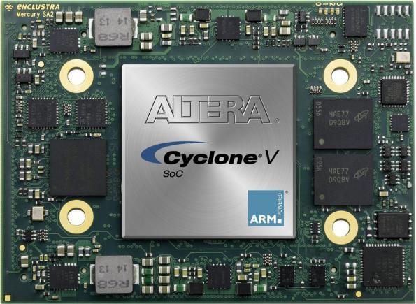 Module Altera Cyclone V SoC avec de nombreuses E/S