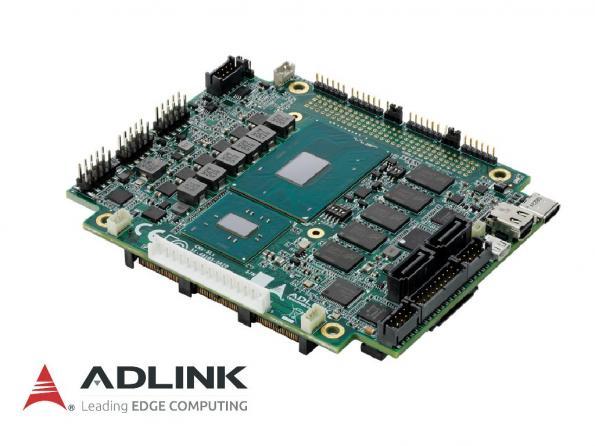 ADLINK associe sur son dernier ordinateur sur carte les performances du bus PCI/104-Express Type 1 à celles des processeurs Intel Core de 6ème génération