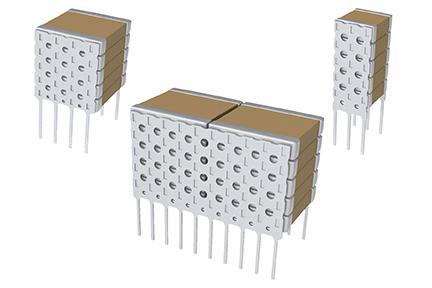 Solutions capacitives haute température 200°C utilisables dans les environnement difficiles