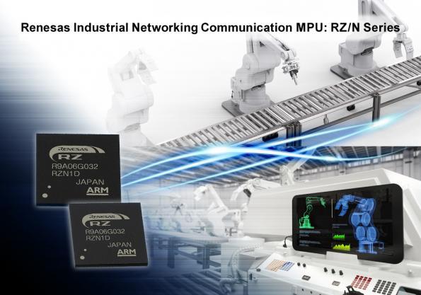 Renesas Electronics accélère le développement d'applications de l'Ethernet industriel