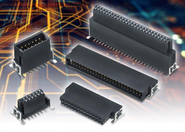 Connecteurs carte-à-carte à haute densité, durables, polyvalents et empilables
