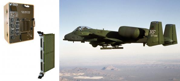 Le Module PXI de Commutation de Pickering Interfaces sélectionné pour l'Aeronef A-10C