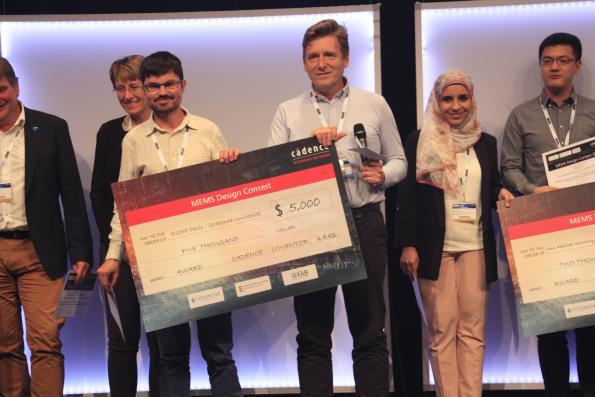 Cadence annonce le lauréat du concours mondial de conceptions à base de circuits MEMS