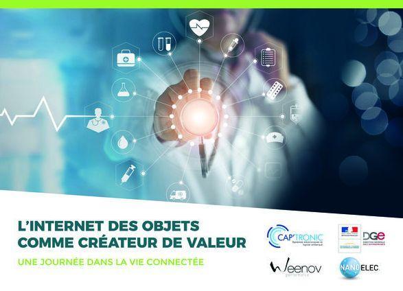 CAP'TRONIC dévoile son nouveau GUIDE : L'Internet des Objets, créateur de Valeur