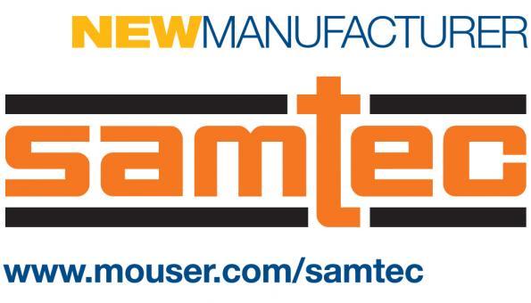 Mouser signe un accord de distribution global avec Samtec