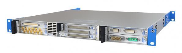 Châssis modulaire USB/LXI à six emplacements