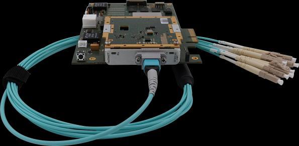 Plateforme pour applications optiques haut débit