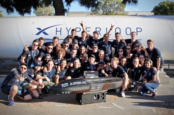 Concours SpaceX Hyperloop: Nicomatic contribue à la victoire de l'équipe du projet WARR Hyperloop