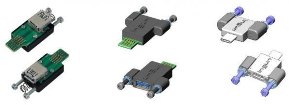Connecteurs-Prises de test USB3.X