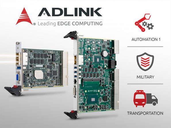 Cartes processeur au format Compact PCI 2.0 exploitant des processeurs dernière génération