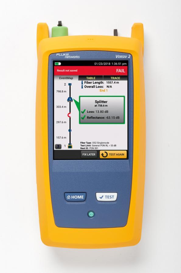 Réflectomètre optique permettant de tester les applications HDR